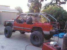 Chopped jeep xj