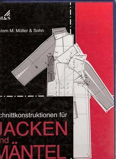 pattern drafting book in german