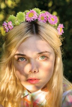 Elle Fanning Shot by Tierney Gearon for The New York Times #oystermag.com #superettestore