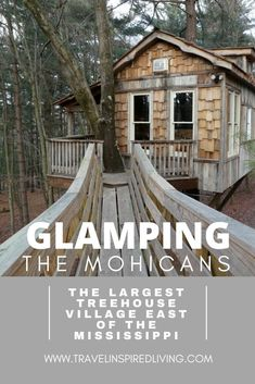 Did you know that you can glamp in a treehouse in Ohio? You'll want to check out the largest treehouse village east of the Mississippi located right in northeast Ohio. Plan your glamping trip today! Abandoned Houses, Abandoned Places, Abandoned Castles, Abandoned Mansions, Bell Tent Camping, Shower Tent, Romantic Getaways, Best Places To Travel, Glamping