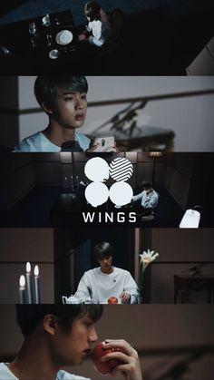 [Phone Wallpaper] Jin ❤ 방탄소년단 (BTS) WINGS Short Film #7 AWAKE #BTS #방탄소년단