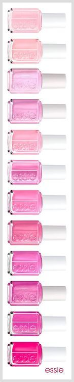 See,  how on earth am I supposed to choose when there are soooooo many options for pink nail polish?!
