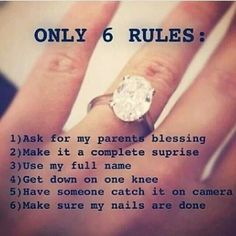 as long as you love me unconditionally... However, future husband, wherever you are, check this out! *hint hint*