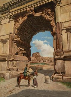 Stefan Bakałowicz -Luk Tytusa  Arch of Titus