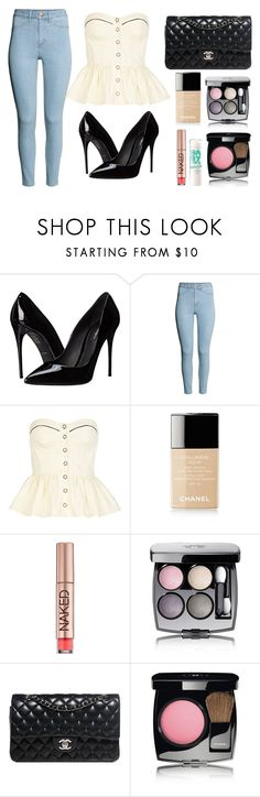 """I'm Addicted To Chanel"" by marsophie ❤ liked on Polyvore featuring Dolce&Gabbana, H&M, River Island, Chanel, Maybelline and Urban Decay"