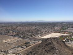View from the Top of Lone Mountain, Las Vegas, Nevada