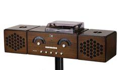 Achille Castiglioni, Pier Giacomo Castiglioni 1965 Wood Sereophonic System