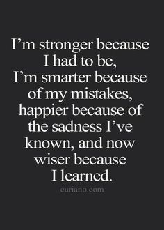 Stronger, Smarter, Happier & Wiser