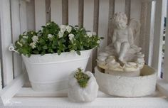 miniaturowa fontanna