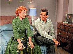 """The Ricardos"" - Colorized Lucille Ball and Desi Arnaz"