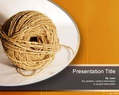 thread powerpoint template twine ppt free Ppt Free, Powerpoint Template Free, Microsoft Powerpoint, Business Powerpoint Templates, Powerpoint Slide Designs, Twine, Presentation, Backgrounds, Objects