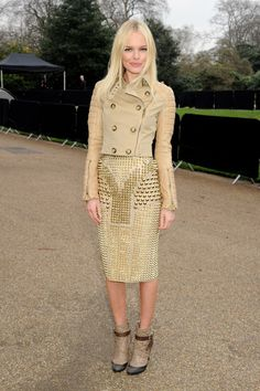 Kate Bosworth does it right in spikes & studs.