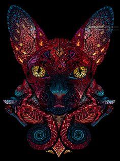 Bastet by akreon.deviantart.com on @deviantART