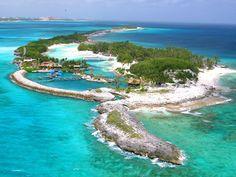 Blue Lagoon Island, The Bahamas  Visited this Island while honeymooning.  Beautiful.