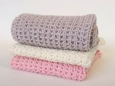 Loom Knitting, Knitting Patterns, Wood Crafts, Diy And Crafts, Knit Dishcloth, Knit Crochet, Homemade, Projects, Cotton
