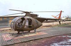 """Hughes OH-6 Cayuse or """"Loach""""."""