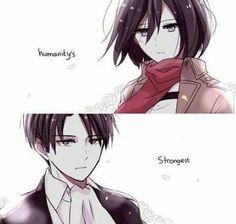 Levi and Mikasa Ackerman ❤