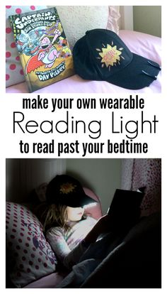 Make your own reading light HAT !!