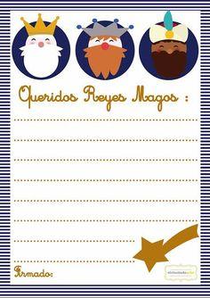 Carta a los Reyes Magos. Diseño: Patricia Gabarrón.