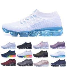 3c098cffb 2018 Air Cushion Running Shoes Men Women Trainer Black White Sport Shock  Jogging Walking Hiking 2018