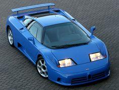 Bugatti EB110 GT #cars #coches #carros
