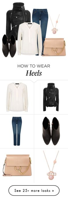 """""""297"""" by vicinogiovanna on Polyvore featuring NYDJ, Jaeger, Chloé, Alexander Wang and Michael Kors"""