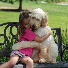 A pooch by the name of LilyBelle won our hearts and minds this weekend. This clever goldendoodle has the important job of making life easier for Meghan Weingarth.