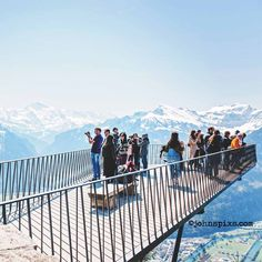 The viewing platform at the Harder Kulm, Interlaken, Switzerland. You can be officially married in the nearby restaurant #photographer #interlaken #harderkulm #hochzeitsfotograf