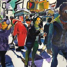 Acrylic 54 x 54 Gallery, Painting, Fictional Characters, Beautiful, Art, Craft Art, Paintings, Kunst, Gcse Art
