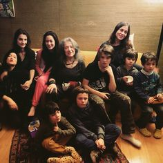 martha argerich and her family
