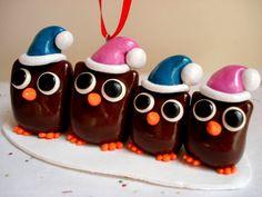 Custom Owl Family Ornament Polymer Clay Owl by MagicalMeGifties, $19.99