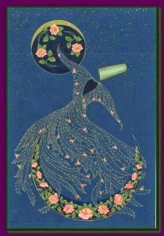 Calligraphy Art, Islamic Calligraphy, Persian Calligraphy, Islamic Paintings, Turkish Art, Foto Art, Mosaic Art, Islamic Art, Indian Art