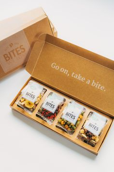 BitesWeLove Package Design & Box Design. #package #subscriptionbox www.biteswelove.nl