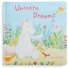 Jellycat 'Unicorn Dreams' Board Book