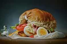 Hyperrealistic Food Paintings – Fubiz™
