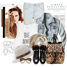 Sem título #2239 by bellerodrigues on Polyvore featuring moda, Billabong, Givenchy, Dolce&Gabbana, Hat Attack, Woolrich and Alexander McQueen