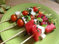 Quick Summer Appetizers for Your 4th of July Picnic:  http://blog.diynetwork.com/maderemade/2014/07/03/2-quick-summer-appetizers-for-your-4th-of-july-picnic/?soc=pinterest
