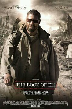 THE BOOK OF ELI (2010): A post-apocalyptic tale, in which a lone man fights his…