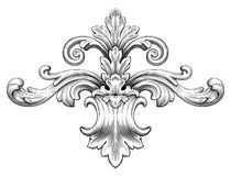 Vintage Baroque Floral Scroll Ornament Vector - Download From Over 48 Million High Quality Stock Photos, Images, Vectors. Sign up for FREE today. Image: 49328583