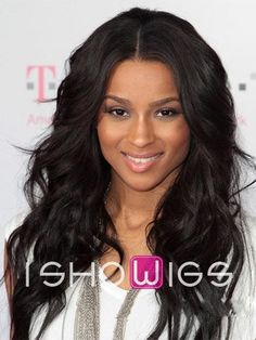 Black Women Long Hairstyles Entrancing Cute Center Part Hairstyles For African American  Pinterest