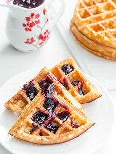 Quick Buttermilk Waffles Recipe