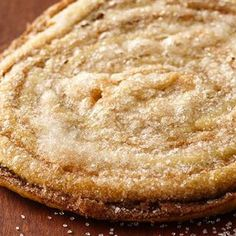 Elephant Ears: Make a crispy, sugar-and-spice bakery classic in a snap with Pillsbury refrigerated pie crust. Vol Au Vent, Fruit Recipes, Cookie Recipes, Dessert Recipes, Pastries Recipes, Yummy Recipes, Köstliche Desserts, Delicious Desserts, Yummy Food