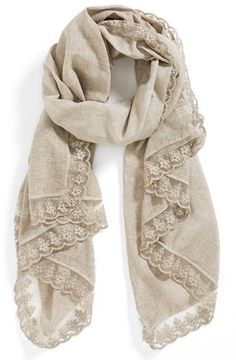 Nordstrom 'Vintage Butterfly' Scarf on ShopStyle