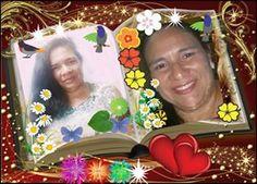 Linda moldura com 3 fotos do seu álbum! Coloque suas fotos...