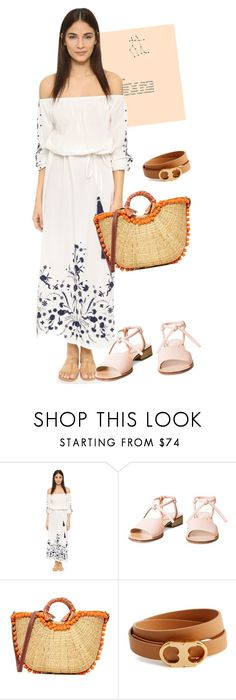 """""""dress"""" by masayuki4499 ❤ liked on Polyvore featuring Pampelone, Sam Edelman and Tory Burch"""