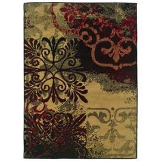 Oriental Weavers Evanston Cornell Neutral 3 ft. 2 in. x 5 ft. 5 in. Area Rug-288335 at The Home Depot