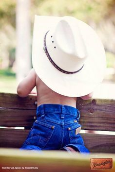 Keep calm and cowboy on.  #WranglerInTraining #LongLiveCowboys