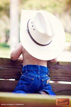 Keep calm and cowboy on. #WranglerInTraining #LongLiveCowboys