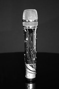 CrystalRoc chrome and crystal microphone