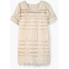 MANGO Embroidered Dress (€115) ❤ liked on Polyvore featuring dresses, pink embroidered dress, short-sleeve dresses, embroidery dress, pink short sleeve dress and mango dresses